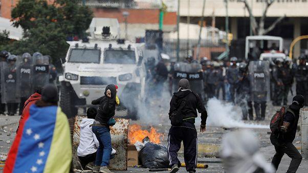 Βενεζουέλα: Ταραχές στο Καράκας