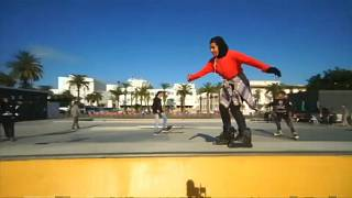 Moroccan female skater goes against the tide