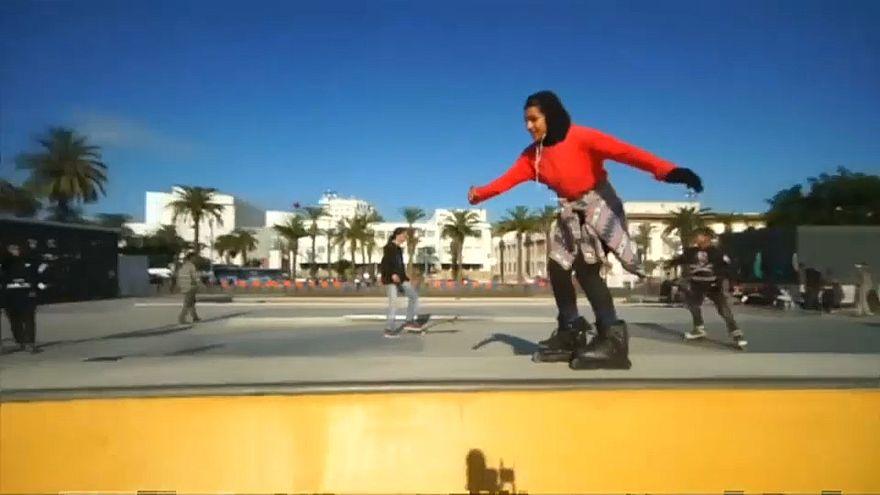 Une paire de patins a changé la vie de cette jeune Marocaine