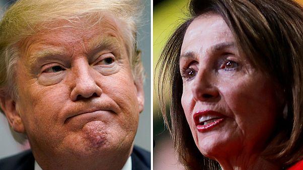 پلوسی خطاب به ترامپ: تا زمان بازگشایی دولت نمیتوانید در کنگره سخنرانی کنید