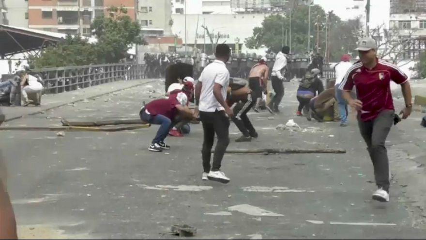 درگیری بین مخالفان مادورو و نیروهای امنیتی ونزوئلا