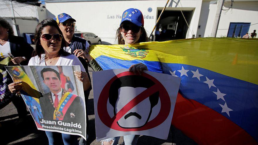 Die EU sichert dem venezolanischen Interims-Präsidenten Juan Guaidó Unterstützung zu