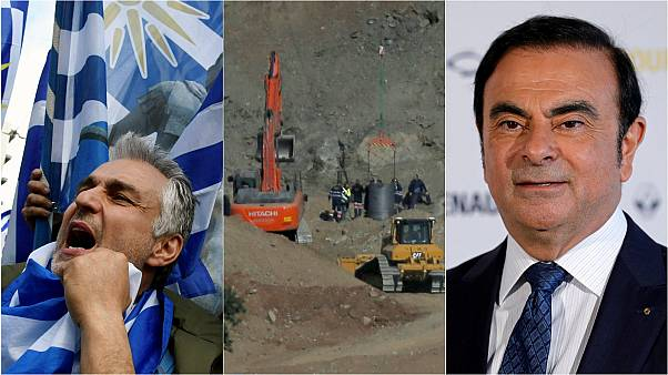 Historic FYROM vote; Spanish well rescue; and Renault chief 'resigns' | Europe briefing