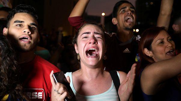 """El grito unánime del exilio venezolano: """"Libertad"""""""