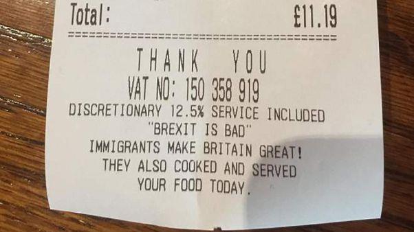 """""""Brexit kötü"""" diyen Türkiyeli restoran işletmecisi tehdit mesajları alıyor"""