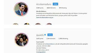 Maduro'nun Instagram'daki onaylanmış statüsü kaldırıldı