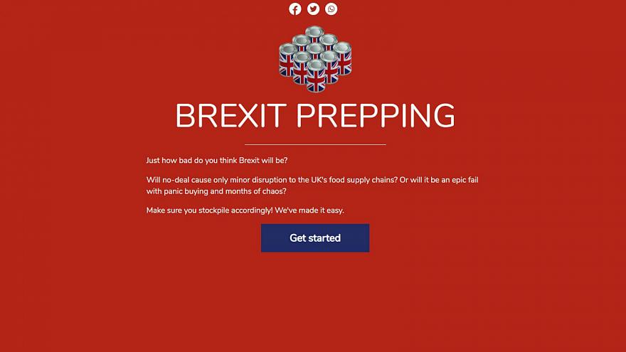 How Brexit-prepped are you? Stockpiling website promises to help