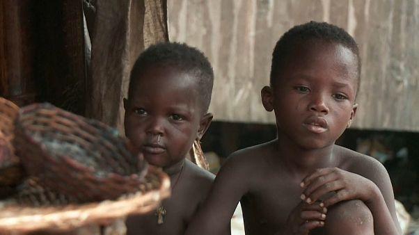 La pauvreté s'aggrave dans les bidonvilles du Nigéria