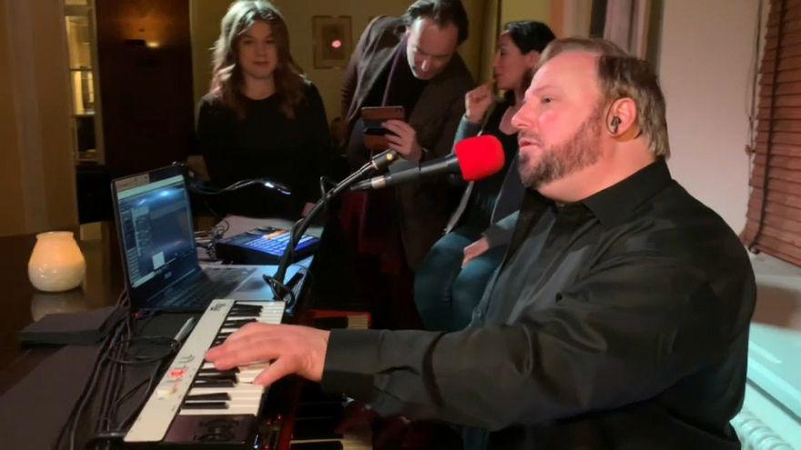 Davos: i segreti del pianista