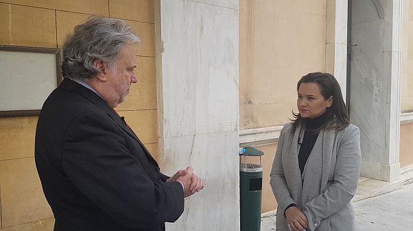 Ο Γιώργος Κατρούγκαλος στο euronews για το Σκοπιανό