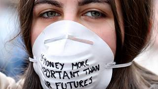 Jovens belgas pedem melhor política climática