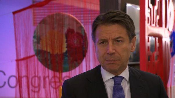 من دافوس: رئيس حكومة إيطاليا يسعى لتخفيف حدّة توتر العلاقات مع فرنسا
