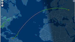 Moskova üzerinden Venezuela'ya giden özel Türk uçağı Maduro için mi?