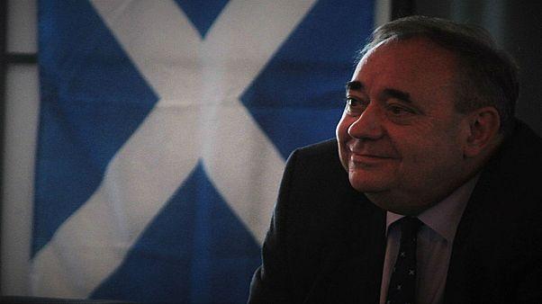 رئيس حكومة اسكتلندا السابق ألكس سالموند