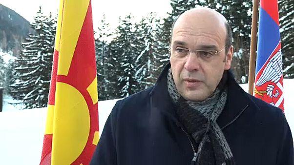 """Davos: """"Portugal siempre defenderá el refuerzo de la UE"""""""