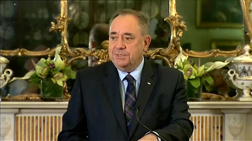 Őrizetben a volt skót miniszterelnök