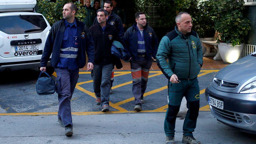 Los mineros asturianos bajan al pozo en Totalán para rescatar a Julen