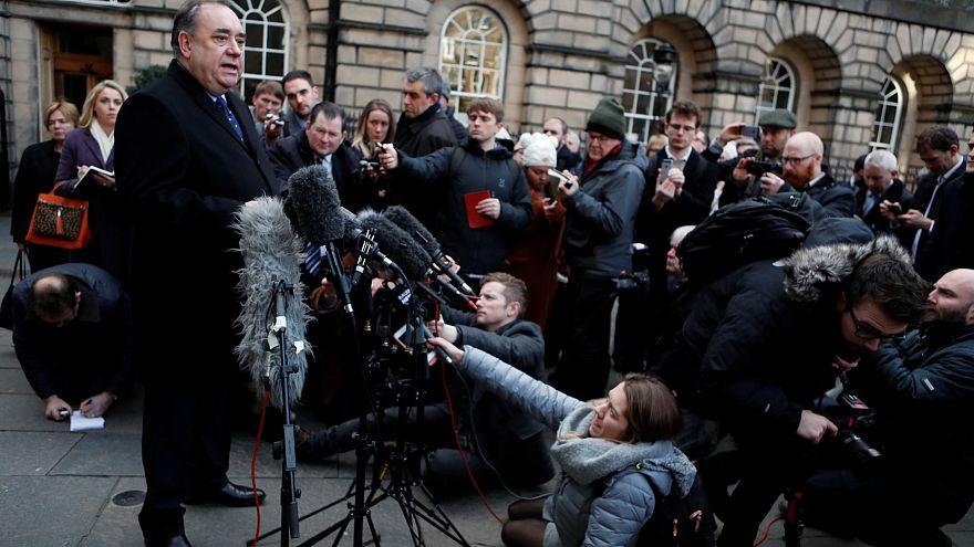 Alex Salmond a été Premier ministre écossais de 2007 à 2014.