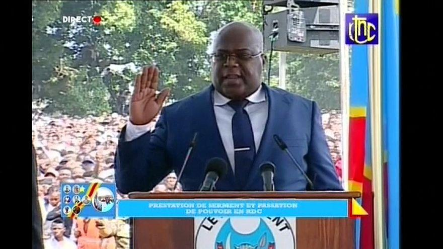 R.D.Congo : Félix Tshisekedi a prêté serment