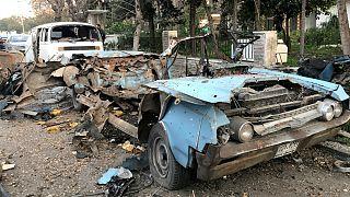 انفجار خودروی بمبگذاری شده در دمشق، پایتخت سوریه