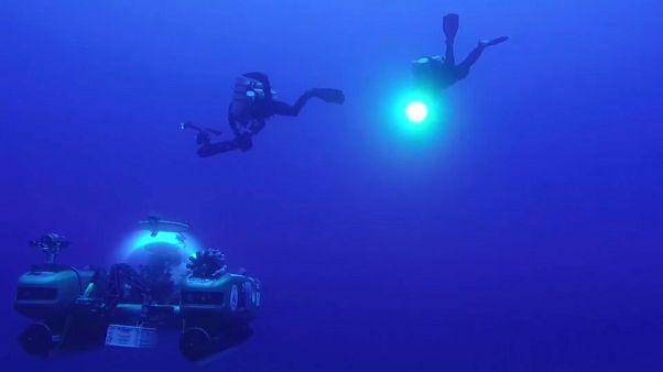 'Ocean Sapphire' esplora i fondali dell'Oceano Indiano
