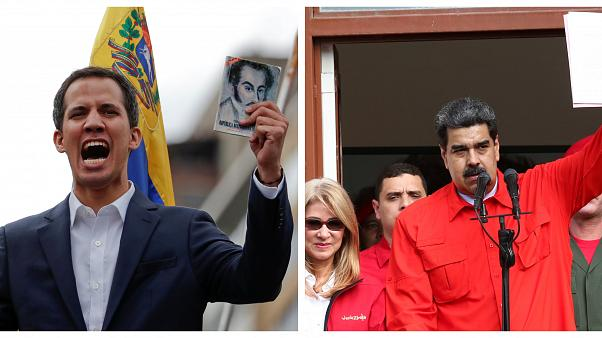 MAPA: ¿Qué países reconocen a Guaidó y cuáles a Maduro como presidente de Venezuela?