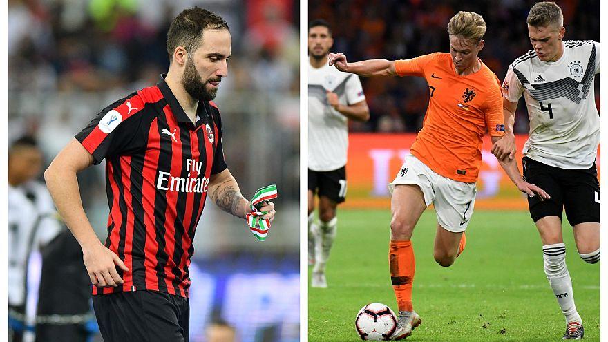 De Jong al Barça, Higuaín al Chelsea