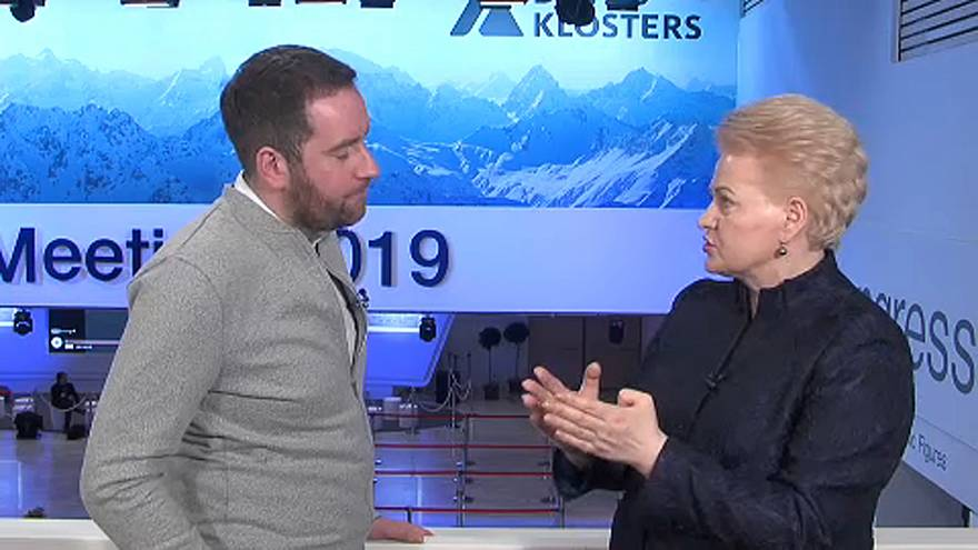 Raw Politics: Lithuanian President Dalia Grybauskaitė says No-deal Brexit may be the right move