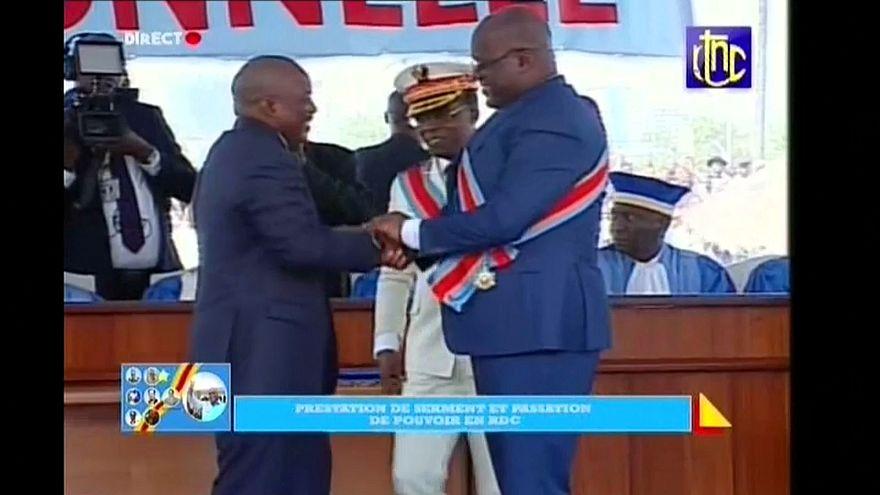 Новый президент ДРК принес присягу