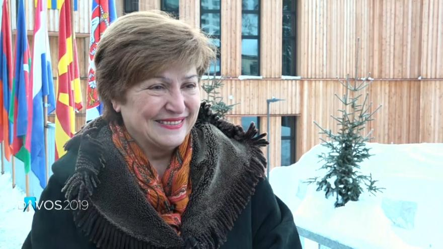 Γκεοργκίεβα: «Εξαρτόμαστε ο ένας από τον άλλον, δεν υπάρχουν λύσεις ανά χώρα»