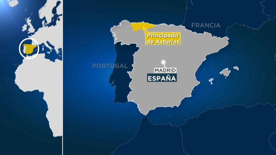 Cuatro muertos en Asturias por culpa del temporal