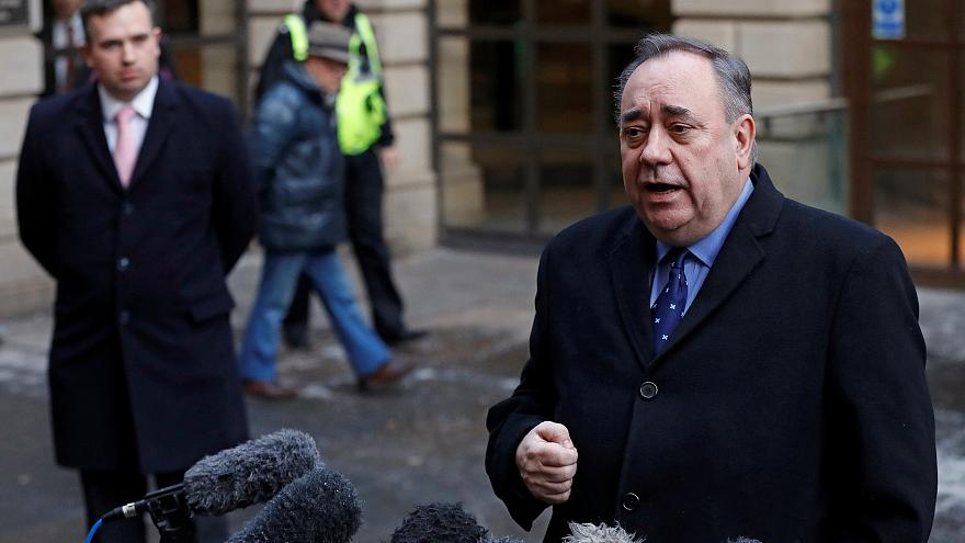 Former Scottish leader Salmond charged with attempted rape