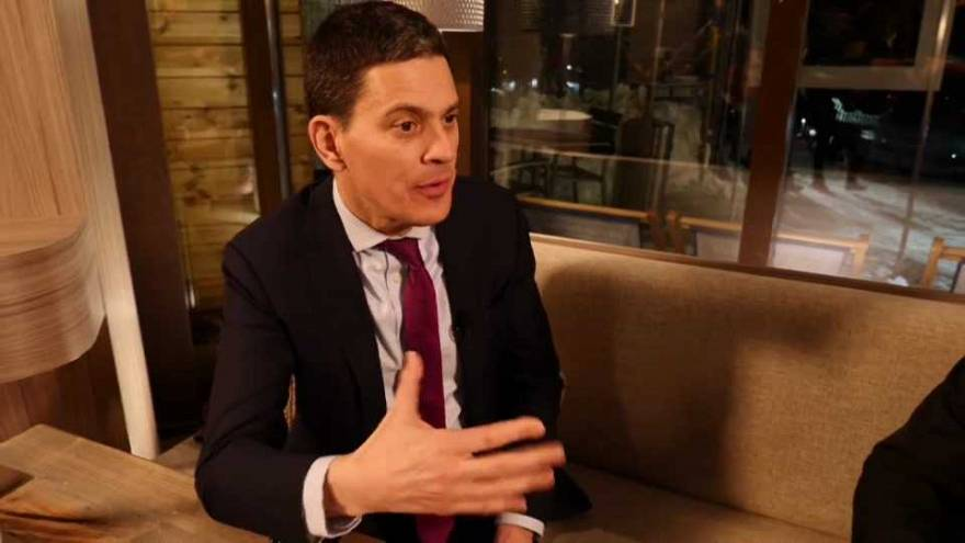 Watch: David Miliband weighs in on state of British Labour Party under Corbyn