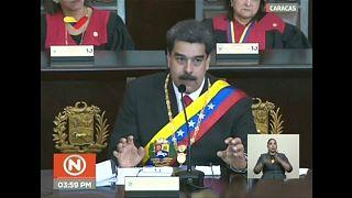 """Maduro se aferra al poder: """"Jamás renunciaré"""""""