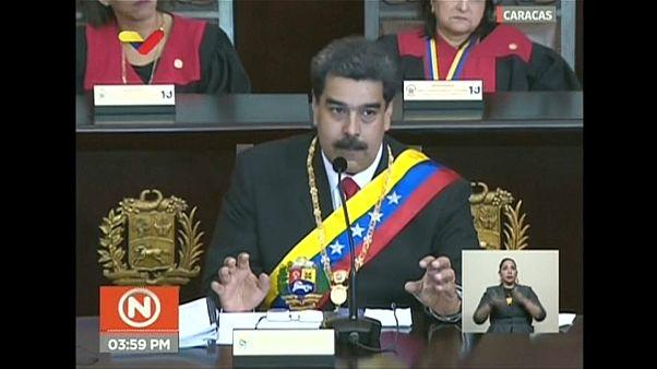 Au Venezuela, Nicolas Maduro reçoit le soutien de l'armée