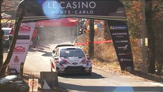 """Rally di Montecarlo: sfida """"francese"""" tra Ogier e Loeb"""