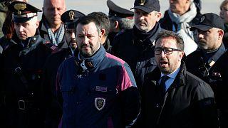 خطر ۱۵ سال زندان برای وزیر ایتالیایی به اتهام راه ندادن پناهجویان