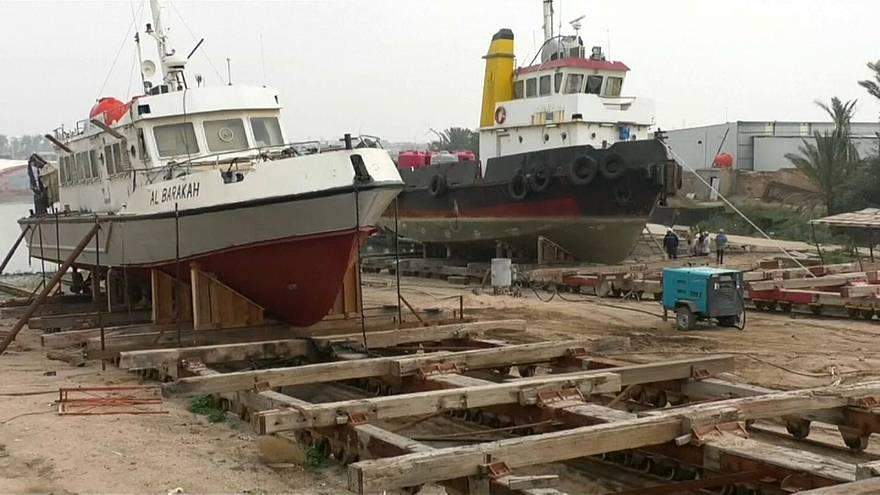 العراق: حوض لبناء السفن يعود لزمن الاستعمار البريطاني يعمل بكفاءة حتى اليوم