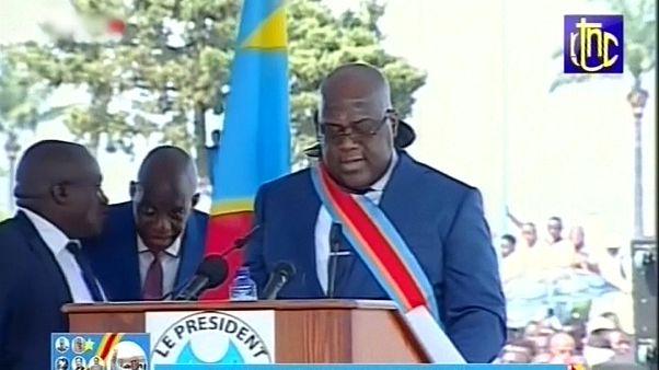 شاهد: تنصيب تشيسيكيدي رئيسا جديدا للكونغو الديمقراطية