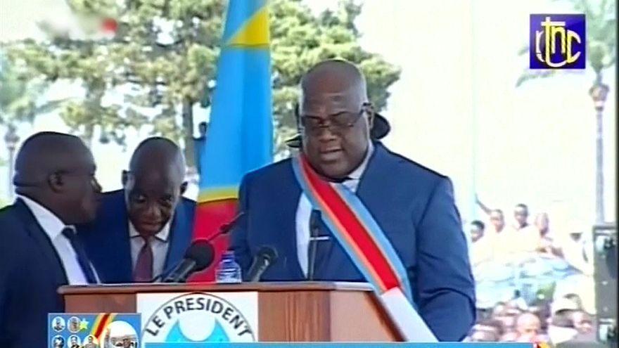 DR Kongo: Neuer Präsident Felix Tshisekedi vereidigt