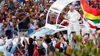 Tömegek éljenezték a pápát Panamában