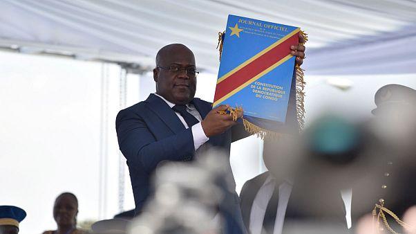 فلیکس تشیسکدی، رئیس جمهور کنگو در مراسم تحلیف: زندانیان سیاسی آزاد میشوند