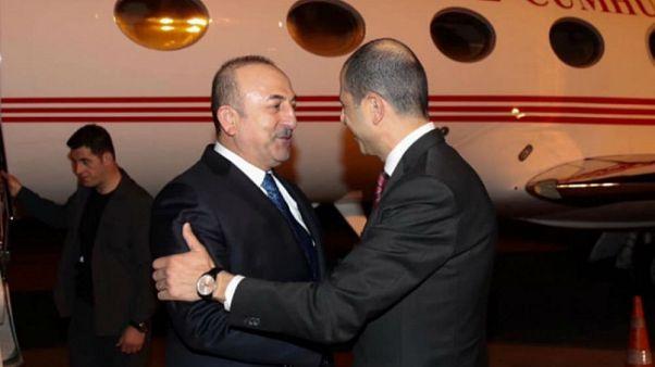 Akdeniz'de doğalgaz yarışı: Çavuşoğlu sıradaki adımlar için KKTC'de