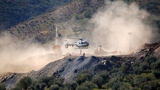 Los mineros se acercan a Julen: menos de un metro para terminar el túnel