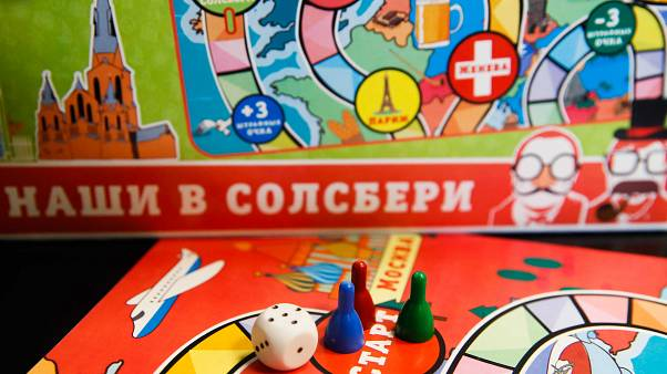 New Russian board game mocks Salisbury Novichok nerve agent attack
