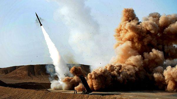 موشک ایرانی زلزال