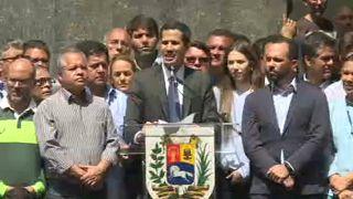 Guaidó mantiene el pulso con Maduro