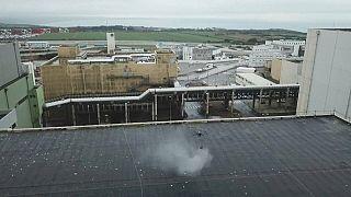 Nucléaire : Greenpeace lâche les drones sur La Hague