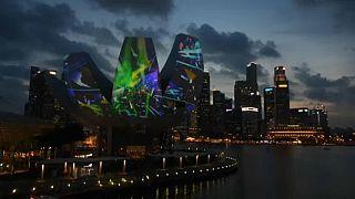 Fényfesztivál Szingapúrban