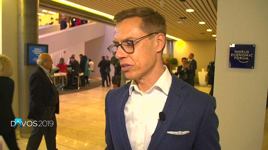 """Alexander Stubb: """"Deixar a União Europeia é um pouco como deixar a internet"""""""